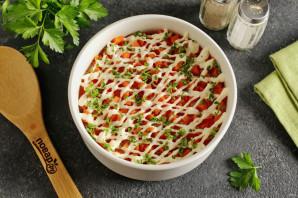 Салат с курицей и морковью - фото шаг 10