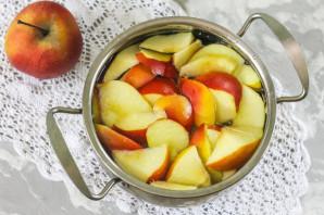 Компот из яблок на зиму без стерилизации - фото шаг 5