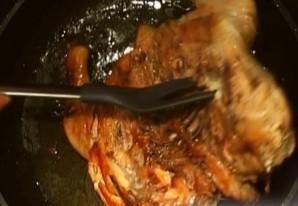 Курица табака в духовке   - фото шаг 4