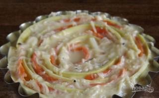Запеканка овощная с сыром - фото шаг 5