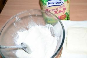 Творожный торт со взбитыми сливками - фото шаг 1