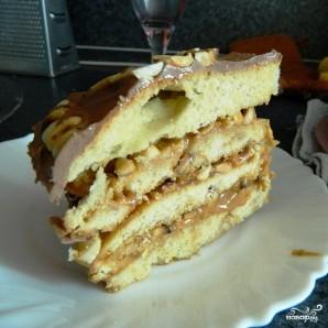 """Торт """"Сникерс"""" - фото шаг 11"""