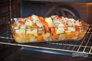 Запеченное мясо с картошкой - фото шаг 10