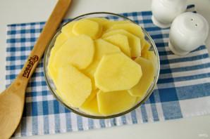 Пирог с картошкой и луком в духовке - фото шаг 5