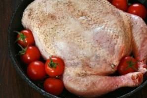 Фаршированная курица без костей - фото шаг 8