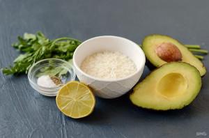 Рис с авокадо - фото шаг 1