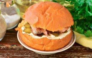 Рыбный бургер - фото шаг 6