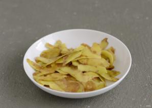 Чипсы из картофельных очисток - фото шаг 3