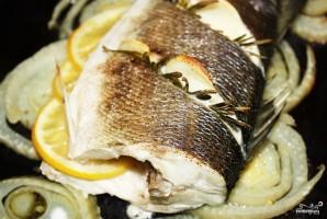 Сибас с розмарином и лимоном - фото шаг 5
