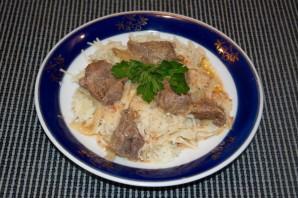 Мясо под соусом - фото шаг 6