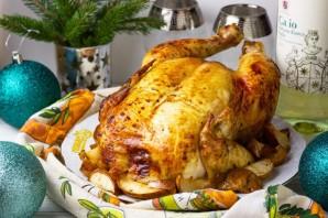 Курица, запеченная с грушами - фото шаг 7
