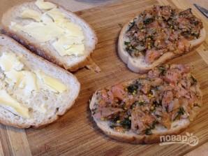 Горячий сэндвич с лососем - фото шаг 5