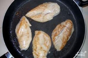 Курица с дыней - фото шаг 2
