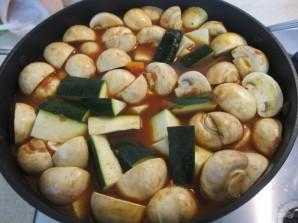 Овощное рагу с грибами и кускусом - фото шаг 4