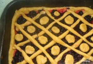 Быстрый ягодный пирог - фото шаг 5