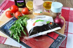 Салат с хамоном и рукколой - фото шаг 1