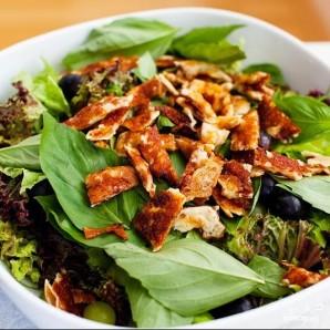 Салат из сулугуни и винограда - фото шаг 6