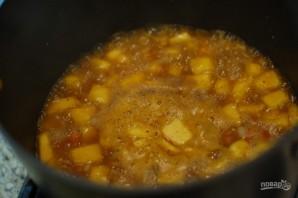 Суп-пюре с тыквой и бататом - фото шаг 4
