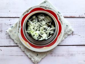 Салат с морской капустой и свеклой - фото шаг 4