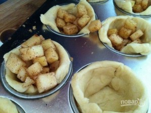 Мини-пироги с яблоком - фото шаг 3