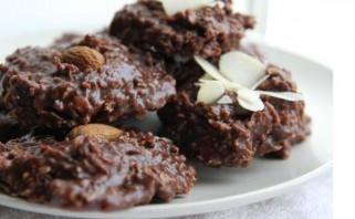 Овсяное шоколадное печенье без выпечки - фото шаг 6
