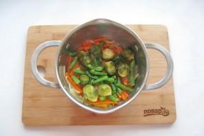 Диетическая рыба с овощами - фото шаг 5