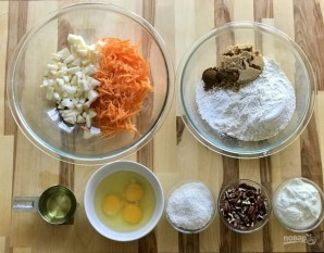 Маленькие кексы в формочках - фото шаг 1