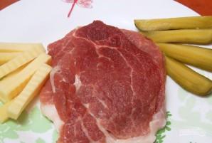 Рецепт мясных рулетиков - фото шаг 1