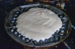 Печенье в вафельнице - фото шаг 7