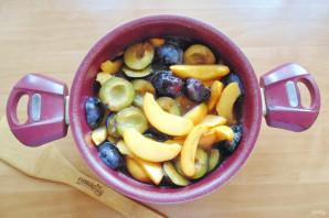 Варенье из персиков и слив - фото шаг 9