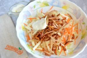 Легкий зимний салат - фото шаг 6