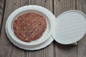 Сырный бургер - фото шаг 2