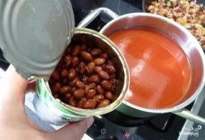 Суп из томатного сока - фото шаг 5
