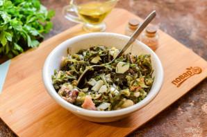 Салат из морской капусты и морского коктейля - фото шаг 6