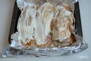 Куриный кармашек с ананасом - фото шаг 8