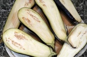Лучший рецепт баклажанов, фаршированных творогом и сыром с майонезом - фото шаг 1