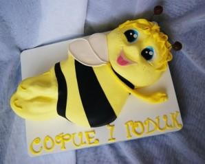 """Торт """"Пчелка Майя"""" - фото шаг 5"""