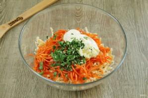 """Салат """"Лисичка"""" с корейской морковкой - фото шаг 6"""