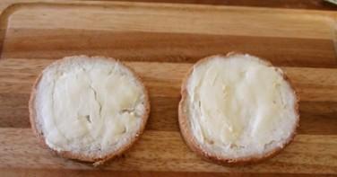 Маленькие бутерброды для детей - фото шаг 2