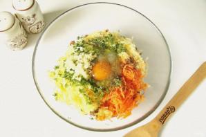 Котлеты с овощами и сыром - фото шаг 5