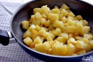 Баклажаны с картофелем - фото шаг 3
