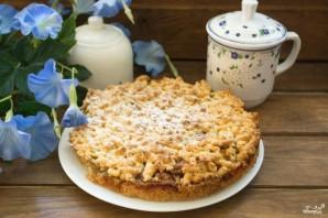 Тёртый пирог с яблоками - фото шаг 7