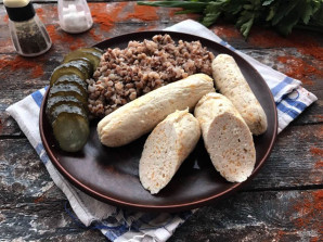 Домашние сосиски с сыром - фото шаг 9