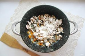 Гречаники с грибным соусом - фото шаг 7