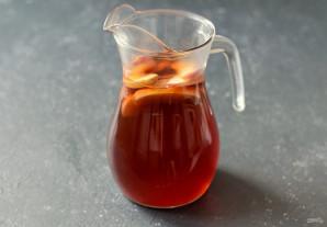 Холодный яблочный чай - фото шаг 6