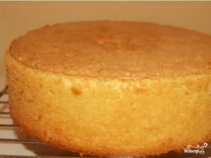 Лимонный бисквитный торт - фото шаг 7