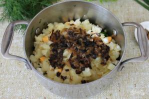 Грибной холодный суп - фото шаг 7