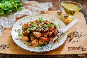 Курица с грибами по-китайски - фото шаг 8