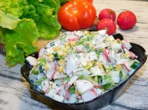 Овощной салат с кукурузой - фото шаг 4