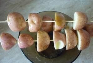 Гарнир к мясу в духовке - фото шаг 3